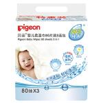 贝亲-婴儿柔湿巾80片3连包 (KA36*3)