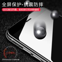 iphone6钢化膜苹果6s全屏全覆盖6贴膜6splus抗蓝光6plus手机膜6sp全包边膜6s六玻璃mo抗指纹4.7