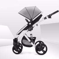 婴儿推车高景观可坐可躺轻便折叠宝宝推车双向避震儿童手推车