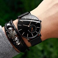 新概念青少年手表男潮流韩版个性酷学生超薄简约防水机械男生手表