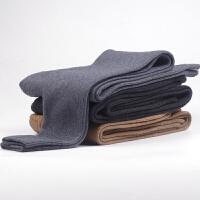 秋冬男士加厚双层羊毛羊绒裤保暖高腰修身保暖绒裤打底裤毛线裤