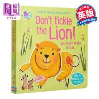 【中商原版】Touchy-Feely Sound Books: Dont Touch the Lion 触摸发声书:别摸