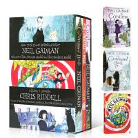 尼尔盖曼英文原版 Neil Gaiman 3册盒装 Fortunately the Milk/The Graveyar