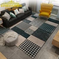 简约现代客厅茶几地毯欧式美式新中式轻奢法式风地垫卧室床边
