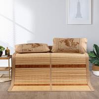水星家纺 碳化竹席单件夏凉席竹席子三件套床上用品 梧桐影
