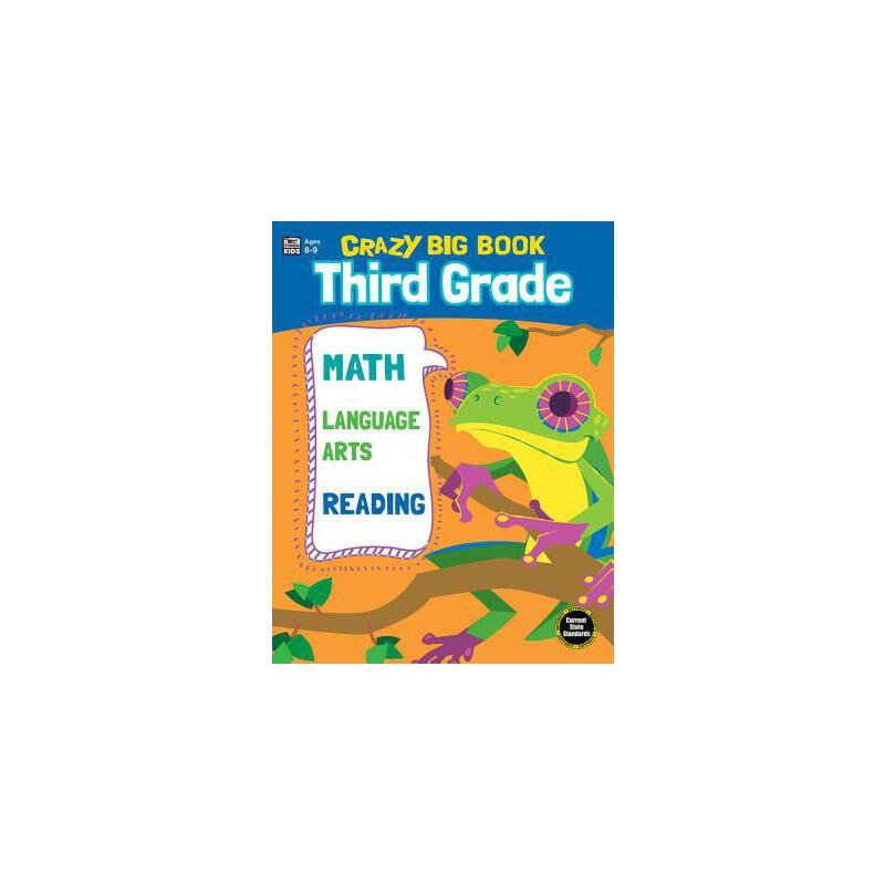【预订】Crazy Big Book, Grade 3 预订商品,需要1-3个月发货,非质量问题不接受退换货。