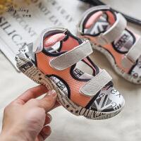 女童凉鞋儿童网面鞋中大童软底防滑女孩的鞋子