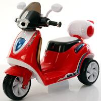 儿童电动车三轮车充电摩托电瓶车男女宝宝早教音乐一键启动2-6岁