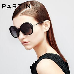 帕森优雅闪亮水钻款偏光太阳镜 潮女士大框司机驾驶镜墨镜9537