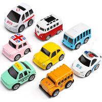 回力合金小汽车儿童玩具车模型套装宝宝益智小孩