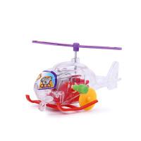发条玩具飞机 创意儿童直升机小车迷你发条上链小飞机怀旧玩具地摊夜市