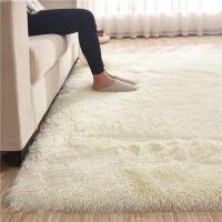 丝毛客厅沙发茶几地毯卧室可爱房间床边毯满铺榻榻米定制地垫