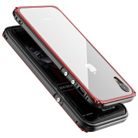 iphone xs max手机壳苹果xs新款网红潮牌全包防摔iphone xs plus保护套金属边框XR个性创意超薄