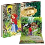 经典童话立体剧场书烫金版-小红帽