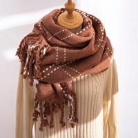围巾女冬季韩版百搭长款仿羊绒羊毛冬天加厚学生围脖情侣围巾