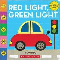 现货 英文原版 Red Light, Green Light 纸板书 �C 30 Jun 2015 红绿灯 翻翻书 亲子启蒙