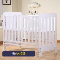 婴儿床实木新生儿拼接大床多功能摇篮床bb宝宝欧式儿童床