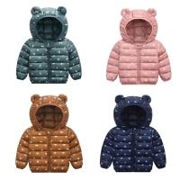 棉衣儿童羽绒宝宝男童女童小童秋冬装加厚保暖短款外套