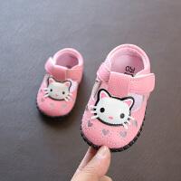 女宝宝学步凉鞋0-1岁真皮公主鞋春夏单鞋6-12个月软底婴儿步前鞋