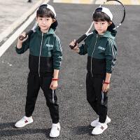 男童运动套装春秋季童装儿童两件套中大童休闲上衣潮