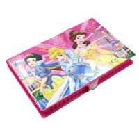 芭比美术工具箱画画套装儿童用品收纳绘画工具小学生画笔彩笔女孩