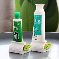 泰蜜熊2个装颜色随机发挤牙膏神器懒人按压器手动牙膏夹子创意手动牙膏挤压器