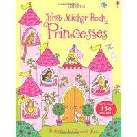 Princesses 进口英文原版 宝宝贴纸书:公主