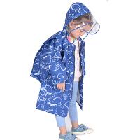 小孩子小学生雨具儿童雨衣雨披女童幼儿园男童宝宝斗篷式雨衣