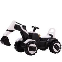 儿童挖掘机可坐可骑遥控玩具大号电动全自动钩机工程车男孩挖土机MY37