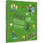 英文原版 Sport in 30 Seconds 运动 30秒读科普 微阅读 全彩版 青少年课外读物