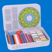 【限时抢】数数棒幼儿园早教木质蒙氏数学运算教具宝宝小棍批发1-2-3-6岁玩具