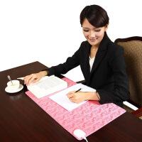 小金猴电热暖桌垫暖桌宝加热书写垫暖手发热垫电脑桌垫桌垫办公室KT 36*60CM
