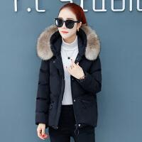 新年特惠短款棉袄时尚羽女冬装2019新款韩版中长款女士冬季外套