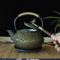 瑞寿堂铁壶手工铁壶日本南部铸铁茶壶电陶炉套装铸铁泡茶烧水壶煮茶器电陶炉茶炉功夫茶具烧水壶套装