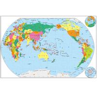 世界地图-磁乐宝拼图-三岁以上*9787520403931 中国地图出版社