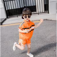 童装男童夏装儿童防晒衣马甲两件套