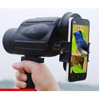 1000倍夜视非红外观鸟镜神器高清高倍单筒望远镜户外装备手机拍摄