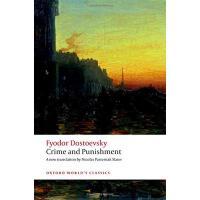 英文原版 罪与罚(牛津世界经典)陀思妥耶夫斯基 Crime and Punishment (Oxford World's