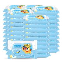 可爱多 婴儿柔湿巾新生儿宝宝儿童洁肤便携小包装湿纸巾 10抽*30包