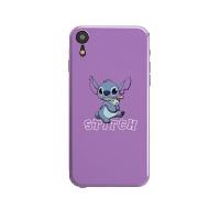 卡通紫色手机壳苹果iphoneXS MAX/硅胶磨砂全包7p网红女款