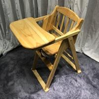 宝宝餐椅儿童餐桌儿童餐椅可折叠BB凳吃饭座椅实木安全婴儿餐椅