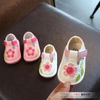 2018春秋新款女宝宝单鞋0-1-2周半婴儿鞋女童皮鞋公主软底学步鞋