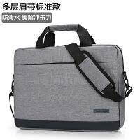 联想华为笔记本电脑包15.6寸14寸男女士手提单肩斜跨防水防震