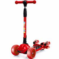 儿童滑板车带喷雾2-12岁小孩溜溜车3岁6岁宝宝闪光四轮滑滑踏板车
