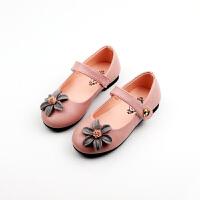 女童鞋子黑色皮鞋小女孩公主鞋1-3-6岁儿童单鞋春秋2019新款5
