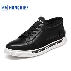 红蜻蜓旗下品牌HONCHIEF男鞋休闲鞋秋冬鞋子男板鞋KTA1213