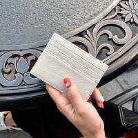 小卡包男士小巧卡套卡片包迷你女式约名片夹真皮公交卡夹