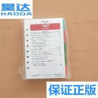 [二手旧书9成新]747 快速检查单 快速措施索引(中文版 散页) /?