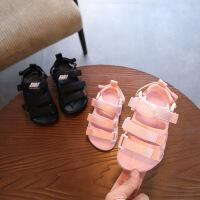 童鞋儿童凉鞋 夏季女童织带休闲凉鞋男童沙滩鞋
