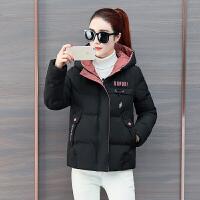 新年特惠冬季时尚外套女冬装2019新款韩版短款小个子羽百搭棉袄